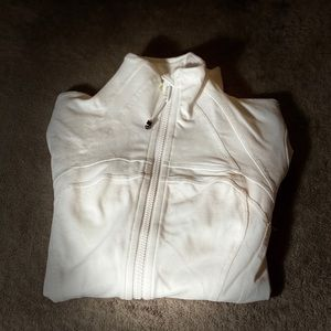 LULULEMON White Define Jacket, never worn